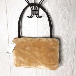 Forever 21 faux fur purse